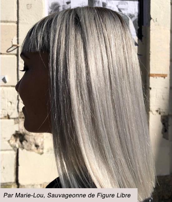 Blond polaire par Marie-Lou, Sauvageonne de Figure Libre