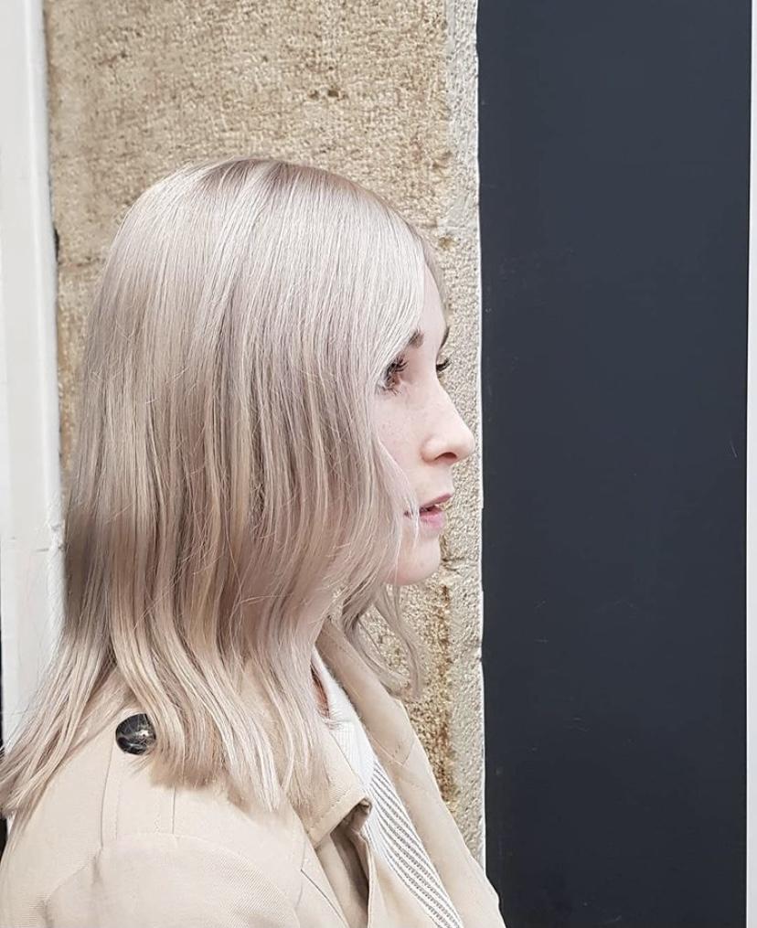 Blond Baby Doll par Kévin, Saco Bordeaux